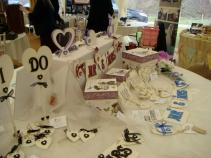 Cobweb Creations display
