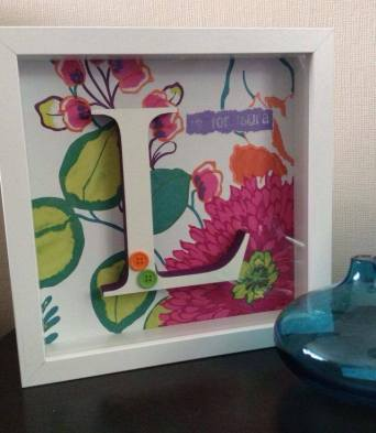 Sian Rudkin crafts Initial Art