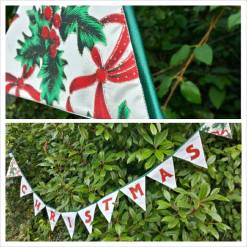 13. Candy Parade christmas bunting