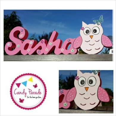 13. Candy Parade wooden name
