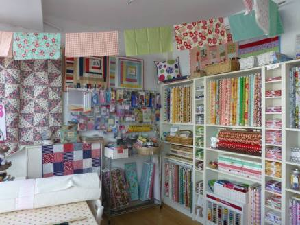 14. Quilty Pleasures Inside the shop