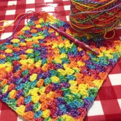 2. For the love of yarn exclusive start of a rainbow hoody