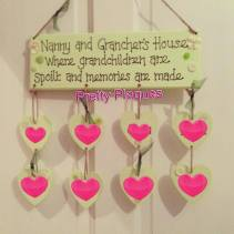 2. Pretty Plaques by Jess grandparents plaque