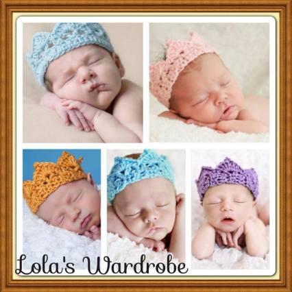 3. Lola's Wardrobe crochet crown