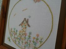 7. Mammakaz embroidery framed picture