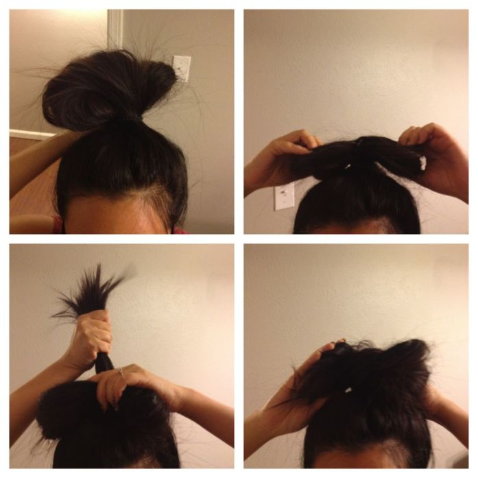 hello kitty hair bow tutorial