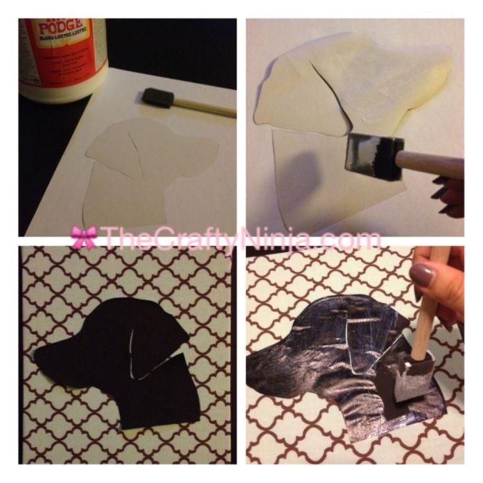 DIY silhouette portraits 2