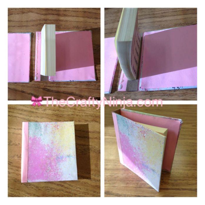 sticky note mini sketch book 3