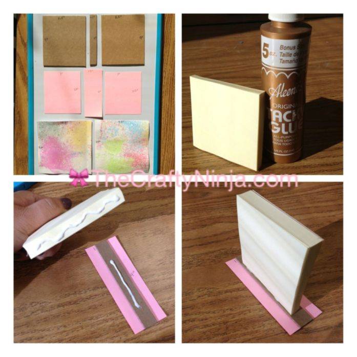 sticky note mini sketch book
