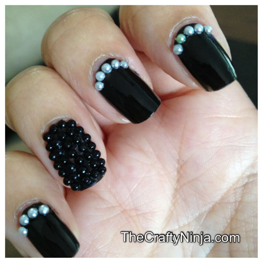 Ciate Bead Nails: Caviar Pearl Bead Nails