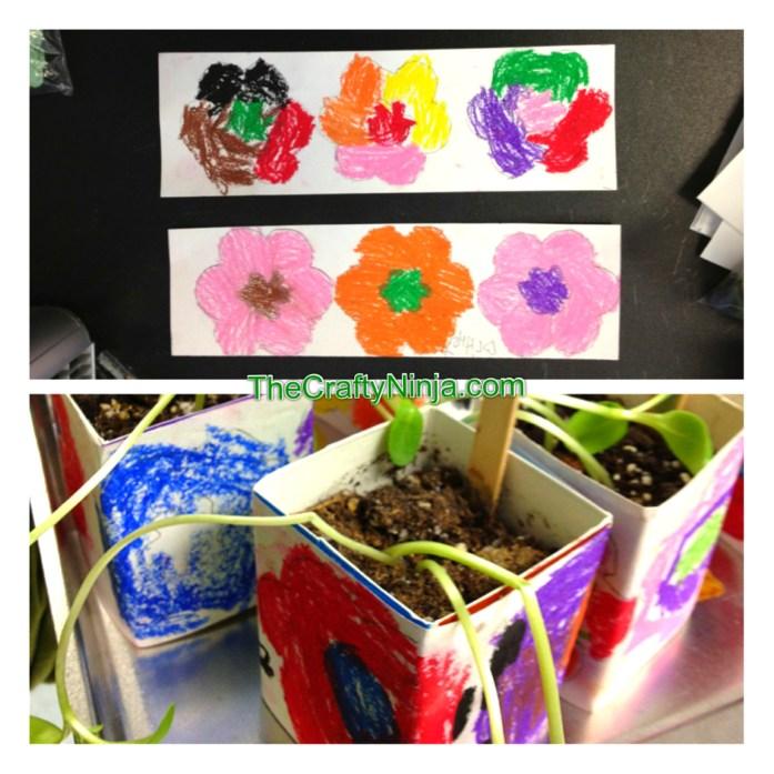 spring flower lesson