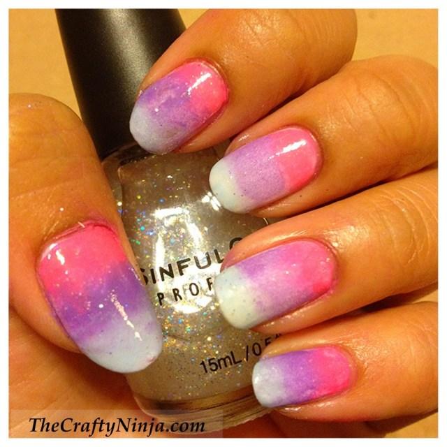 gradient ombre nails