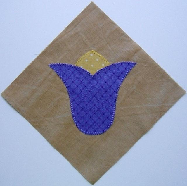 applique blanket stitch