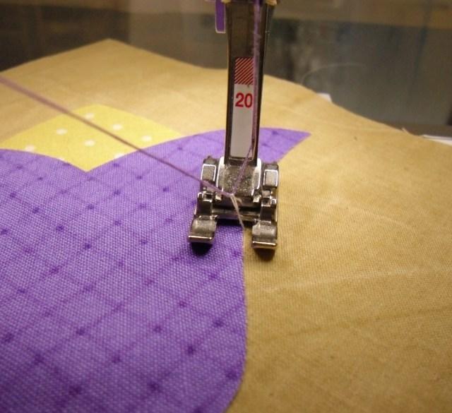 purple tulip pull up bobbin thread