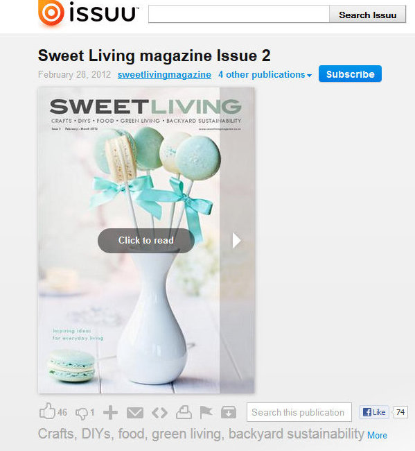 Sweet Living Magazine