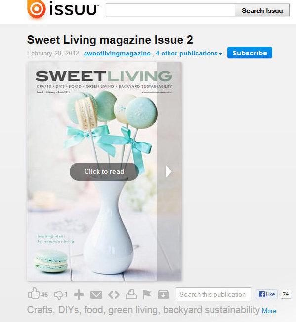 Sweet Living Magazine