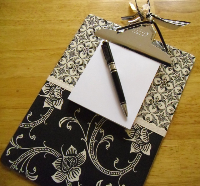 gift note holder