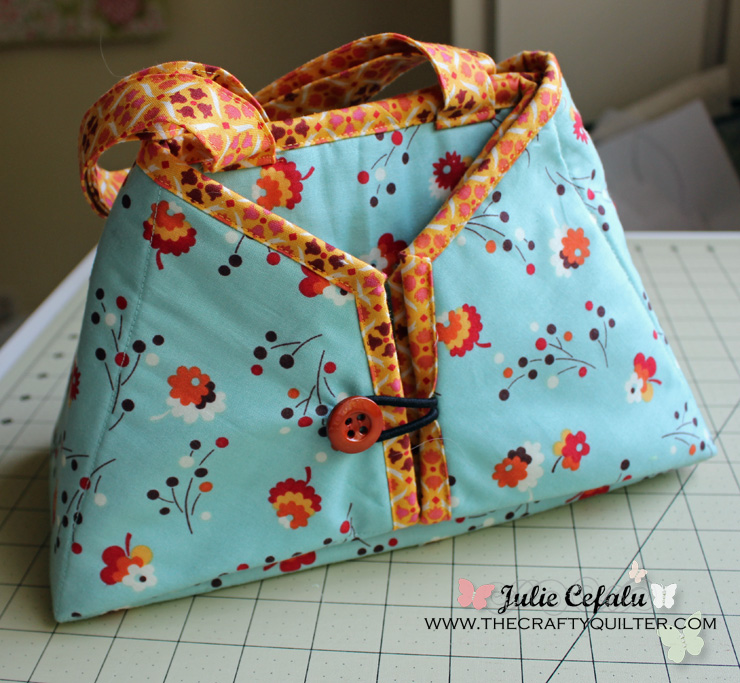 Caddy Pad, Made by Julie Cefalu