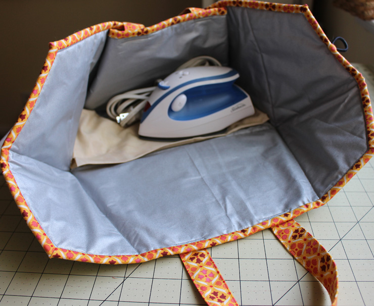 Caddy Pad, Inside, made by Julie Cefalu