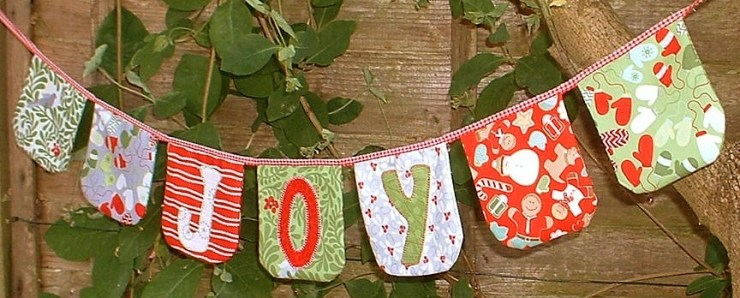 Joy Bunting Pattern @ The Patchsmith