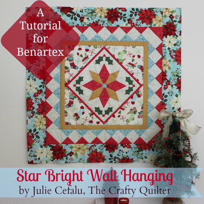 Christmas In July Tutorial For Benartex & A Giveaway