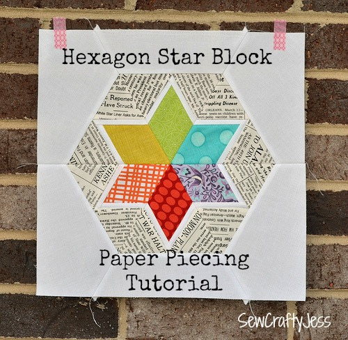 Star Paper Pieced by Sew Crafty Jess