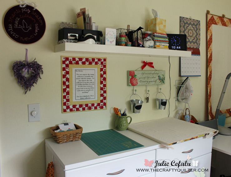 Ironing Station @ The Crafty Quilter
