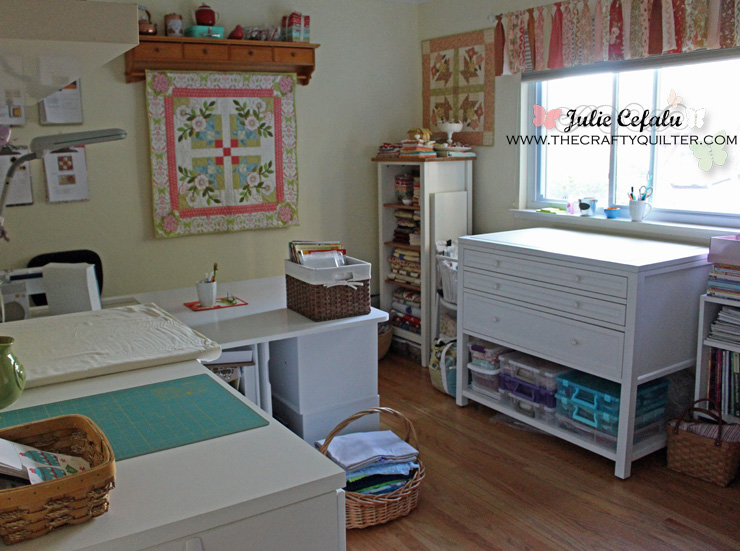 Sewing Room Tour @ The Crafty Quilter