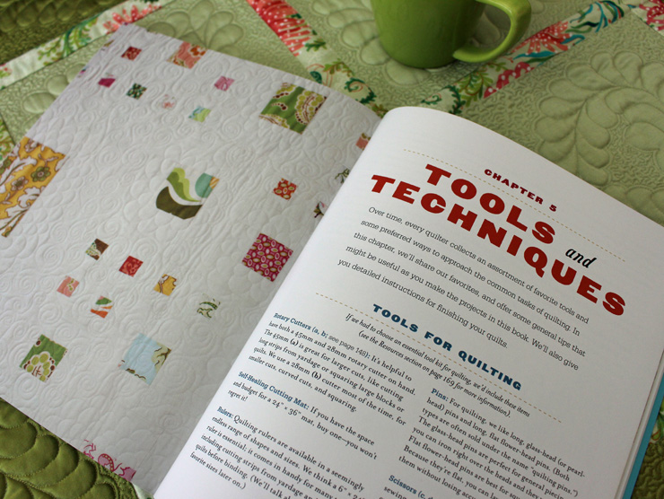 Quilting Happiness - tools and techniques