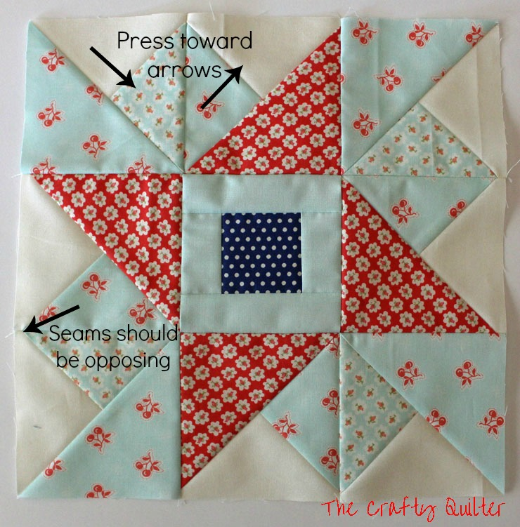 Pressing for Month 4, FQS 2013 Designer Mystery BOM