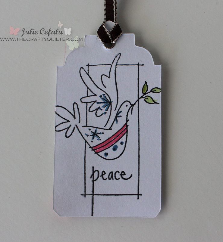 Peace Gift Tag