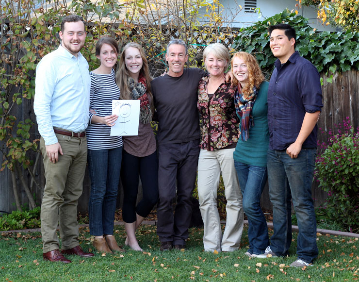 The Cefalu Family at Thanksgiving 2013