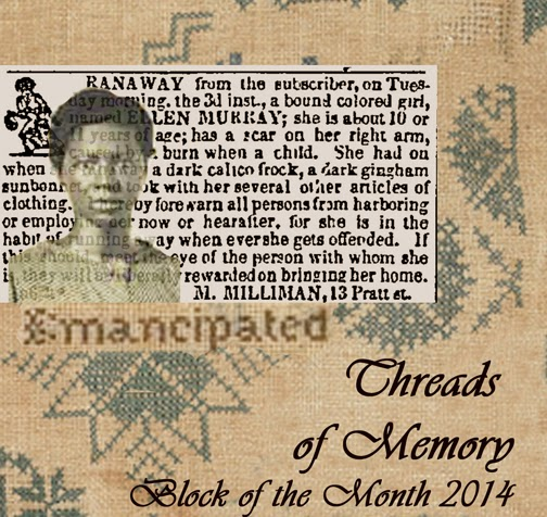 2014 Civil War BOM:  Threads of Memory from Barbara Brackman