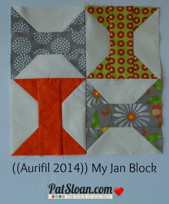 Sew and Flip Tutorial by Pat Sloan