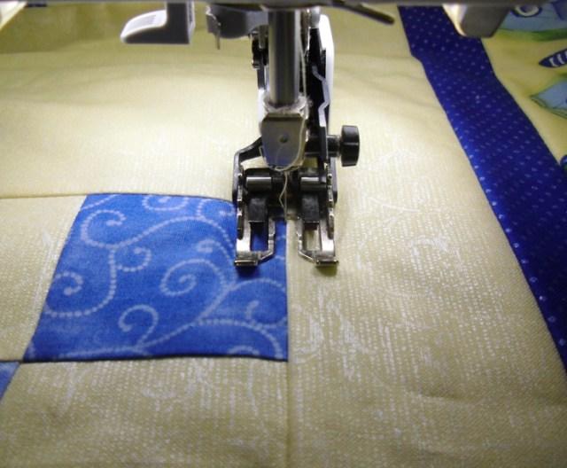 Stitching in Ditch