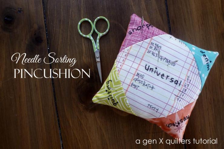 NeedleSortingPincushionTutorial @ Gen X Quilters