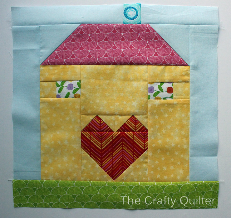 Birdhouse Block @ The Crafty Quilter