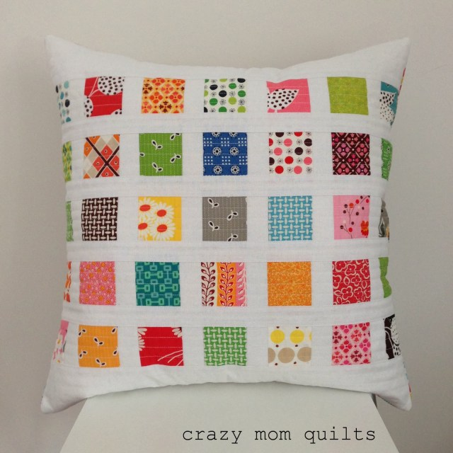 contact print pillow complete