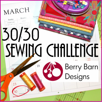 30 30 sewing challenge