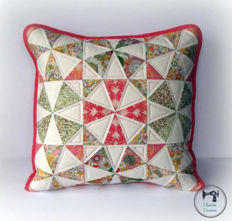 Spring Kaleidoscope Pillow Pattern