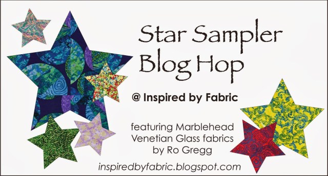 Star Sampler Blog Hop @ Inspired by Fabric