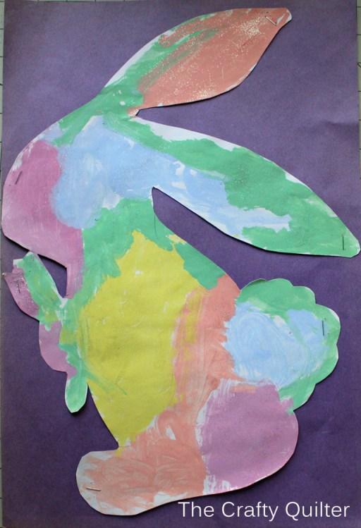 Original Rabbit Art work by Nicole Cefalu
