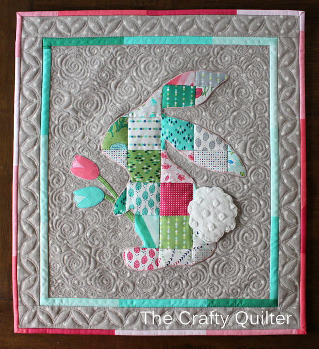 Patchwork Peter Rabbit @ The Crafty Quilter. A great mini charm square project!