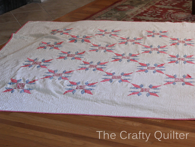 Antique Applique Quilt @ The Crafty Quilter