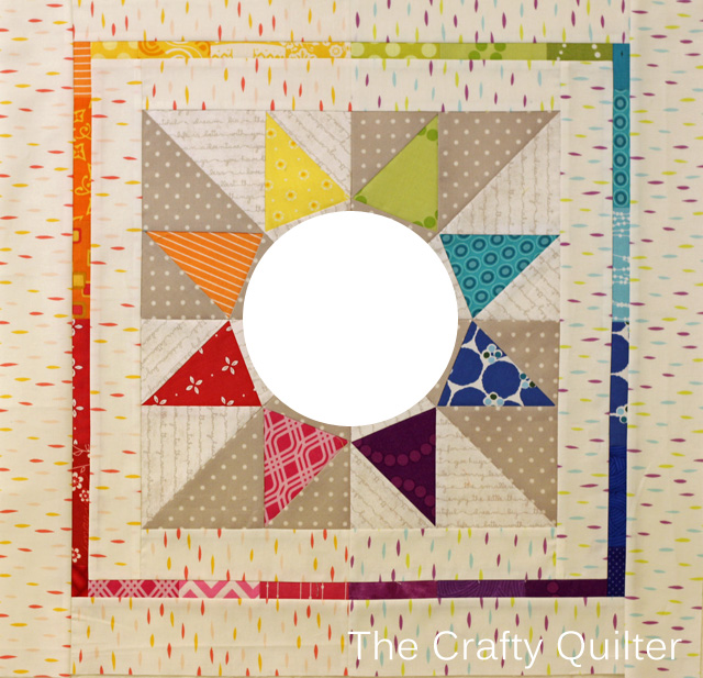 Mini Quilt for swap partner @ The Crafty Quilter