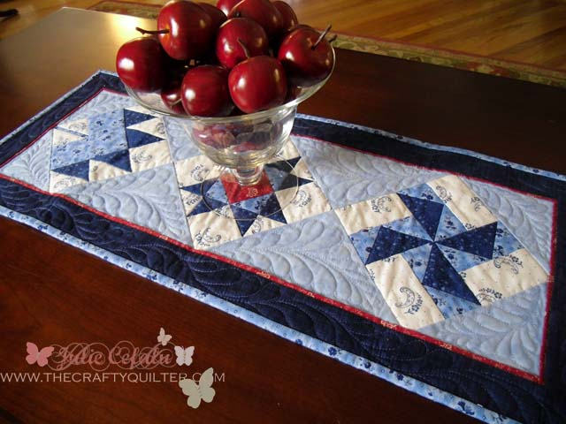 How to add a flange to your quilt @ The Crafty Quilter