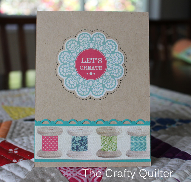 Let's Create Card by Julie Cefalu