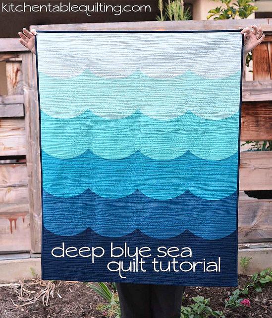 deep blue sea tutorial