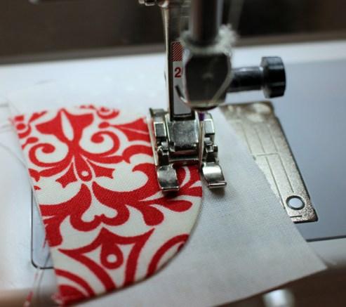heart lobe applique stitch