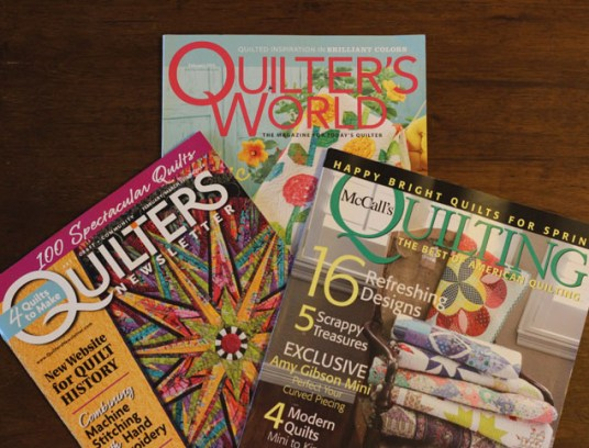 quilter's mags